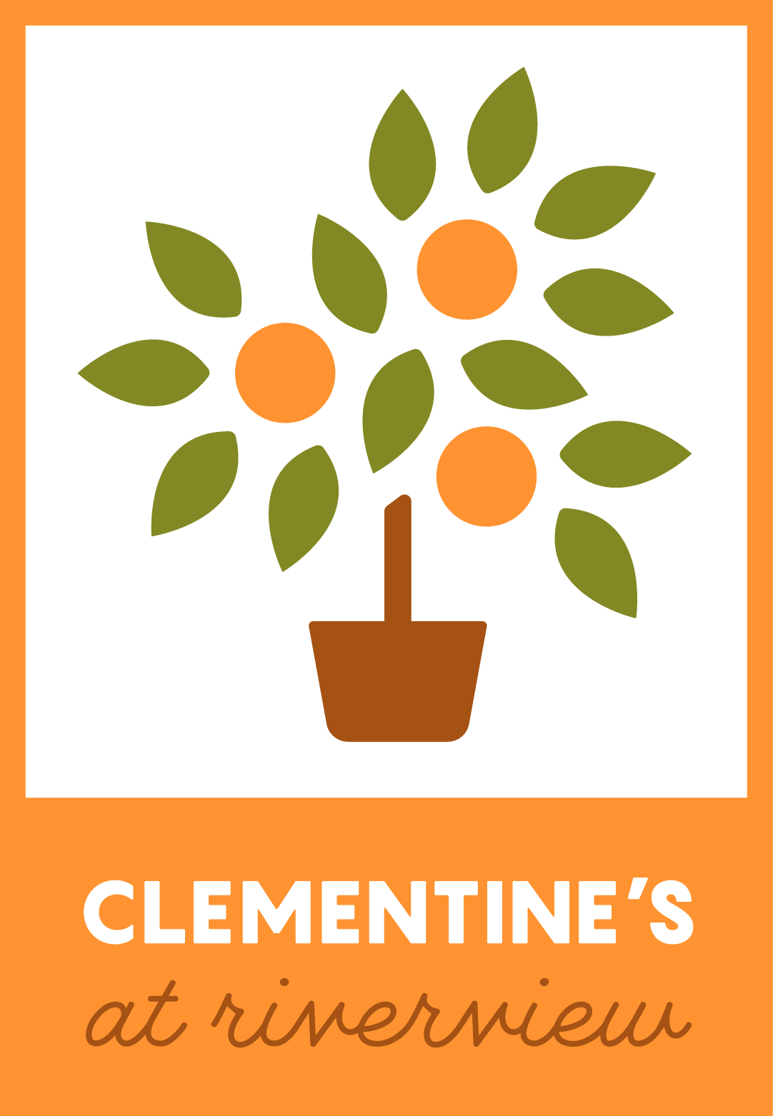 Clementine's at Riverview Logo